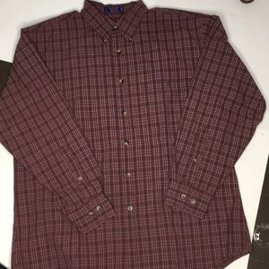 Pendleton button down shirt sz L Broadway cloth